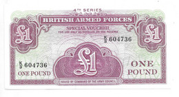 *great Britain Britisch Army Forces Fourth Series 1 Pound ND  M36 - British Armed Forces & Special Vouchers