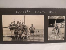 1930 Savona ALASSIO 2 Foto Ragazzi Sulla Spiaggia - Other