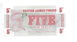 *great Britain Britisch Army Forces Sixth Series 5 Pence  ND  M44 - British Armed Forces & Special Vouchers