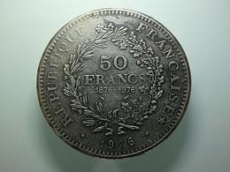 Medal France 50 Francs 100 Years 1876-1976 - Non Classés