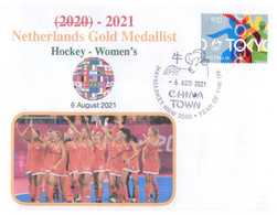 (WW 20 A) 2020 Tokyo Summer Olympic Games - Netherlands Gold Medal 6-8-2021 - Hockey - Women's - Summer 2020: Tokyo