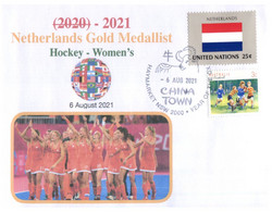 (WW 20 A) 2020 Tokyo Summer Olympic Games - Canada Gold Medal - 6-8-2021 - Women's Football - Eté 2020 : Tokyo