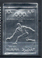 V16  Fujeira Timbre En Or Ou En Argent ** Thématique Olympic Games Munich 1972   A Saisir !!! - Fujeira