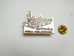 Beau Pin's Pins , Jeu Jouet ,  Train SNCF , Modélisme Ferroviaire , Modèle Club De Sotteville Les Rouen , Maquette - Jeux