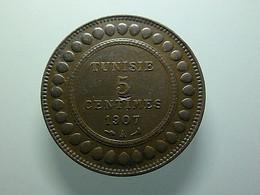 Tunisia 5 Centimes 1907 A - Tunisie