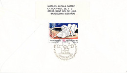 Spain FDC 1992 Barcelona Olympic Games - From 1990  (DD25-24) - Summer 1992: Barcelona