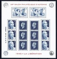 Salon D'automne 2015 Feuillet Libération F4986 - Nuevos