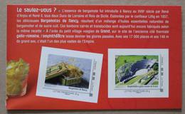 LFV3 Lorraine : Bergamotes De Nancy  &  Amphithéâtre Gallo-romain De Grand (autocollants / Autoadhésifs) - Adhésifs (autocollants)