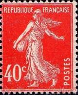 France Poste N* Yv: 194 Mi:189 Semeuse Camée Sans Sol Fond Uni (défaut Gomme) - Neufs