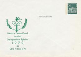 BERLIN  -  Brandenburger Tor  -  Besucht Deutschland Zu Den Olympischen Spielen  -  Privatumschlag  PU 41 / 4a - Privatumschläge - Ungebraucht