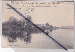 La Seine Et Le Village De Tournedos Sur Seine (27) - Autres Communes