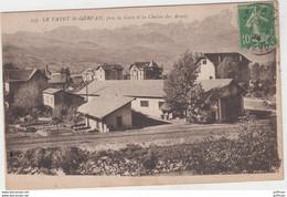 LE FAYET SAINT GERVAIS LES BAINS PRES LA GARE ET LA CHAINE DES ARAVIS 1925 TBE - Other Municipalities
