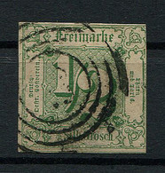 Thurn Und Taxis: 1/2 Sgr. MiNr. 14 1859-1861 Gestempelt / Used / Oblitéré - Thurn Und Taxis