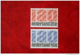 IAO Zegels NVPH 918-919 (Mi 912-913); 1969 POSTFRIS / MNH ** NEDERLAND / NIEDERLANDE - Ungebraucht