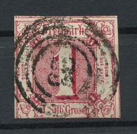 Thurn Und Taxis: 1 Sgr. MiNr. 29 1862-1864 Gestempelt / Used / Oblitéré - Thurn Und Taxis