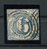 Thurn Und Taxis: 6 Kr. MiNr. 33 1862-1864 Gestempelt / Used / Oblitéré - Thurn Und Taxis