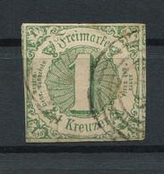 Thurn Und Taxis: 1 Kr. MiNr. 20 1859-1861 Gestempelt / Used / Oblitéré - Thurn Und Taxis