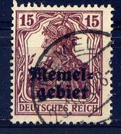MEMEL  - 4° - GERMANIA - Gebraucht