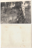 1963 Original 12x9cm Old Photo Photography Vintage Soviet Officer Soldier Army Woman In Uniform Russia USSR (4086) - Oorlog, Militair