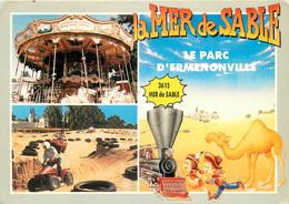 60 - ERMENONVILLE LA MER DE SABLE - Ermenonville