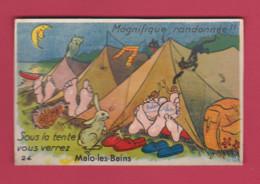 CARTE A SYSTEME   Sous La Tente Vous Verrez    MALO - LES - BAINS - Mechanical