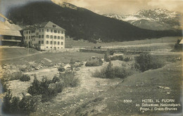 Photo Cpa Suisse. HOTEL IL FUORN 1923 - GR Grisons
