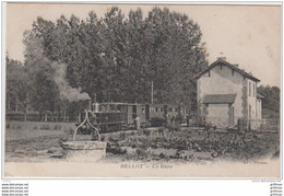 BELLOT LA GARE TRAIN LOCOMOTIVE 1918  TBE - Other Municipalities