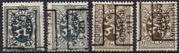 5085 A/B - 5149 A/B KORTRIJK 1929 COURTRAI - Roller Precancels 1920-29