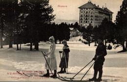 FR66 FONT ROMEU - Collection Sports D'hiver - Le Grand Hôtel - Skieurs - Animée - Belle - Non Classificati