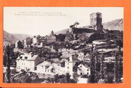 X48147 ♥️ CHANAC 48-Lozere Ruines Chateau Anciens Eveques MENDE 1918 De MALIGE à Anna HORTOLA Route Toulouse Albi / M.T - Chanac