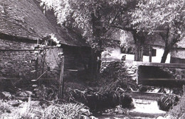 ROMANIA - MOARA La CAZACI / MOULIN À EAU / WATER MILL On DÂMBOVITA  RIVER - PHOTO  / REAL PHOTO ~ 1965 - '970 (ah880) - Romania