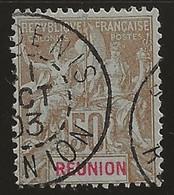 La Réunion : Type Groupe N°50 Oblitéré De St Denis, 1903. - Used Stamps