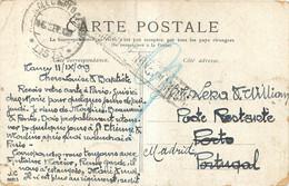 CACHET NANCY POUR POSTE RESTANTE MADRID - 1877-1920: Periodo Semi Moderno