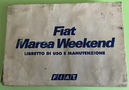 Fiat Manuale Marea Weekend Auto - Supplies And Equipment