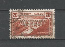 FRANCE  ANNEE 1929 N°262A OBLIT.TB COTE 45,00 € - Usati