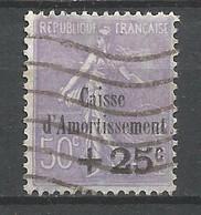 FRANCE  ANNEE 1931 N°276 OBLIT.TB COTE 110,00 € - Usati