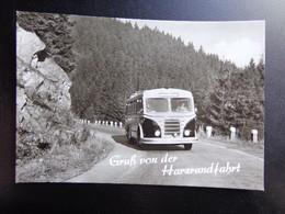 BUS / Gruss Von Der Harzrundfahrt --> Written - PKW
