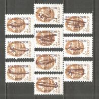 Russia Vladivostok Local Mint Stamps MNH (**) 1993 Aviation - Ohne Zuordnung