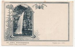 CPA - MENETRUX-EN-JOUX (Jura) - Cascade Du Hérisson (le Jura Pittoresque) - Autres Communes