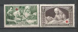 FRANCE ANNEE 1940 N°459,460 NEUFS** MNH TB COTE 28,00 € TB - Nuovi