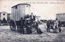 62 - Pas De Calais - BOULOGNE Sur MER - La Plage Et Les Cabines - Boulogne Sur Mer