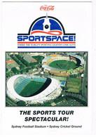ST-452   SYDNEY : Football Stadium / Sydney Cricket Ground ( Size 12 X 17 Cm) - Stadiums