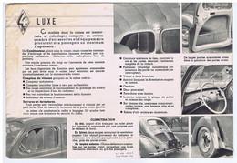 AUTO - 4 CV LUXE ( Animation ) - Advertising