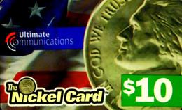 SCHEDA TELEFONICA PHONECARD U.S.A. NICKEL CARD $10 203 - Other