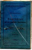 Broschüre: Dienstanweisung Für Die Zugführer Der Preußischen Staatsbahnen Von 1895, - Unclassified
