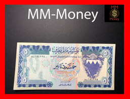 BAHRAIN 5 Dinars 1973  P. 8 A  *rare*    VF \ XF - Bahrain