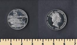 British Virgin Islands 5 Cents 1985 - British Virgin Islands