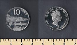 British Virgin Islands 10 Cents 1985 - British Virgin Islands