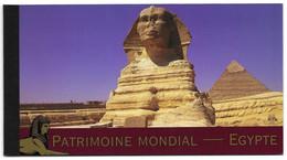 United Nations UNO UN Vereinte Nationen Geneve Genf Genèva 2005 Unesco Patrimoine Heritage Egypt Egypte Mi. 520-25 ** - Markenheftchen