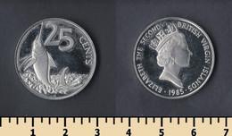 British Virgin Islands 25 Cents 1985 - British Virgin Islands